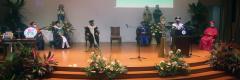 塞兰神父正式就任圣卡洛斯大学第11任校长