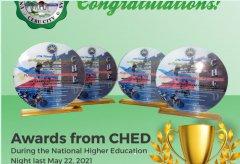 维萨亚斯大学荣获菲律宾国家高等教育委员会四大奖项